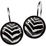 Creative Bath Products Zebra Shower Hooks, 12-Pack