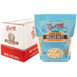 Bob's Red Mill Resealable Organic Extra Thick Rolled Oats, 32 Oz (4 Pack)