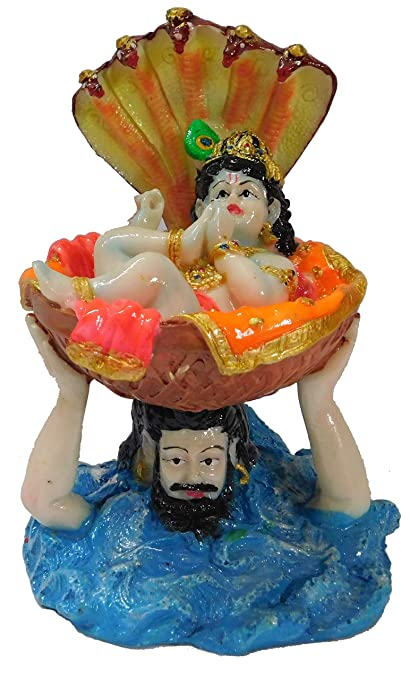 Buy Brijbhoomi Krishna Idol Specially For Janmashtami Decoration Gift Home Decor Office Online At Low Prices In India
