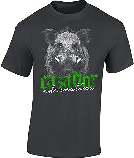 Camiseta: El Jabalí - Adrenalina para el Cazador/T-Shirt en ...