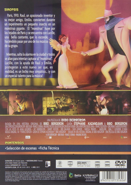 Amazon.com: Un Monstruo En París (Import Movie) (European ...