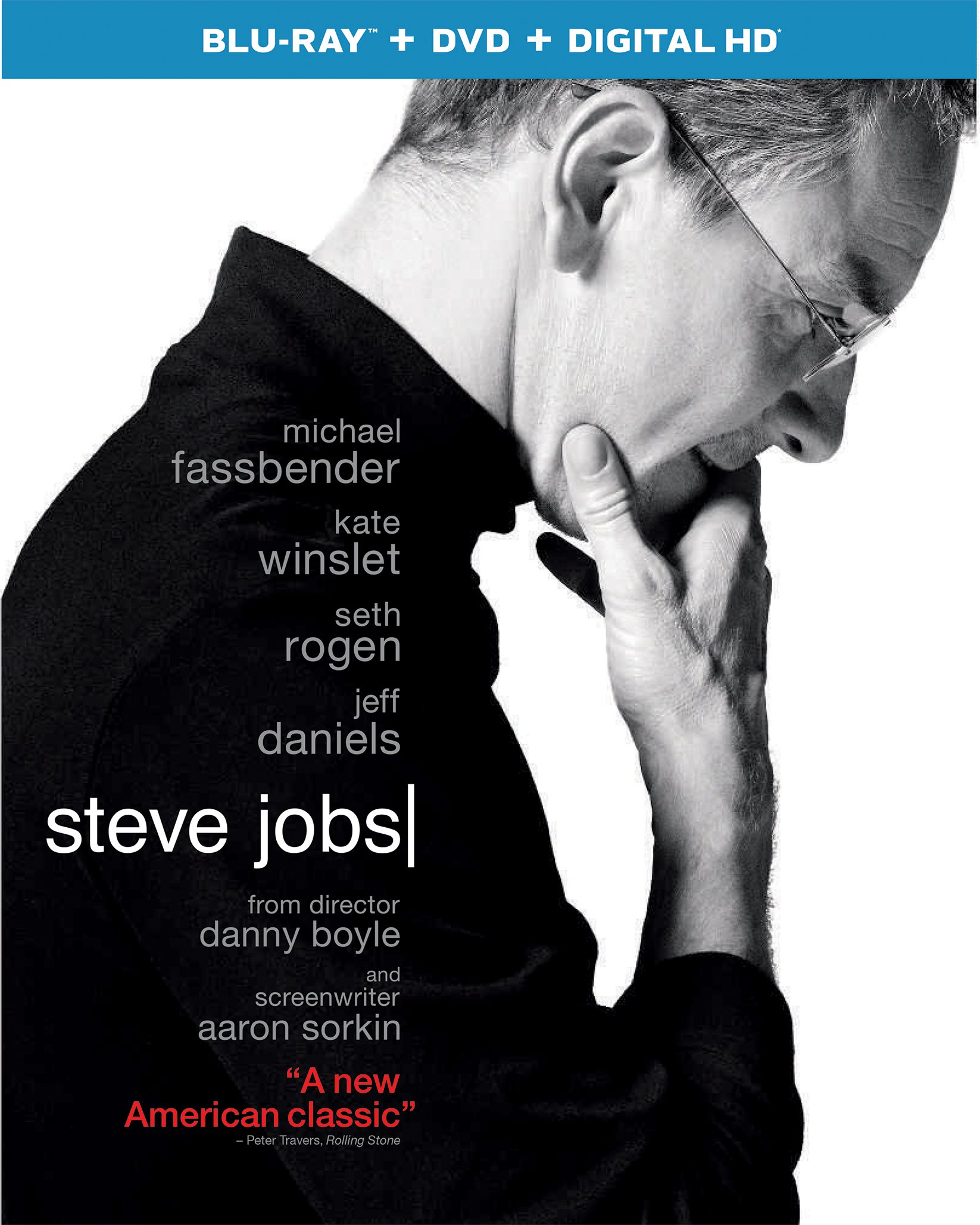 Blu-ray : Steve Jobs (With DVD, Ultraviolet Digital Copy, 2 Pack, Digitally Mastered in HD, Snap Case)