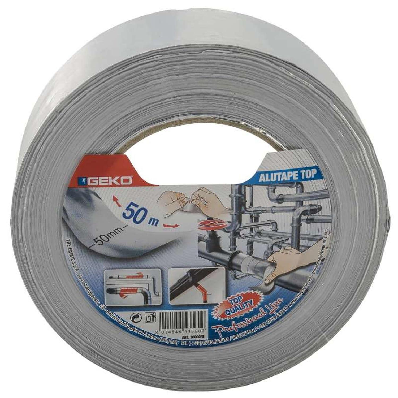 Geko Bande adhésive Aluminium 5 cm x 50 m Geko_30000/9