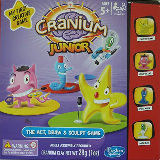 Cranium Junior My First Creative Game by Hasbro: Amazon.es: Juguetes y juegos