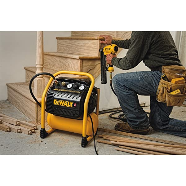 DEWALT DWFP55130 is the one of the best Dewalt air compressor that enables you to work on your projects efficiently
