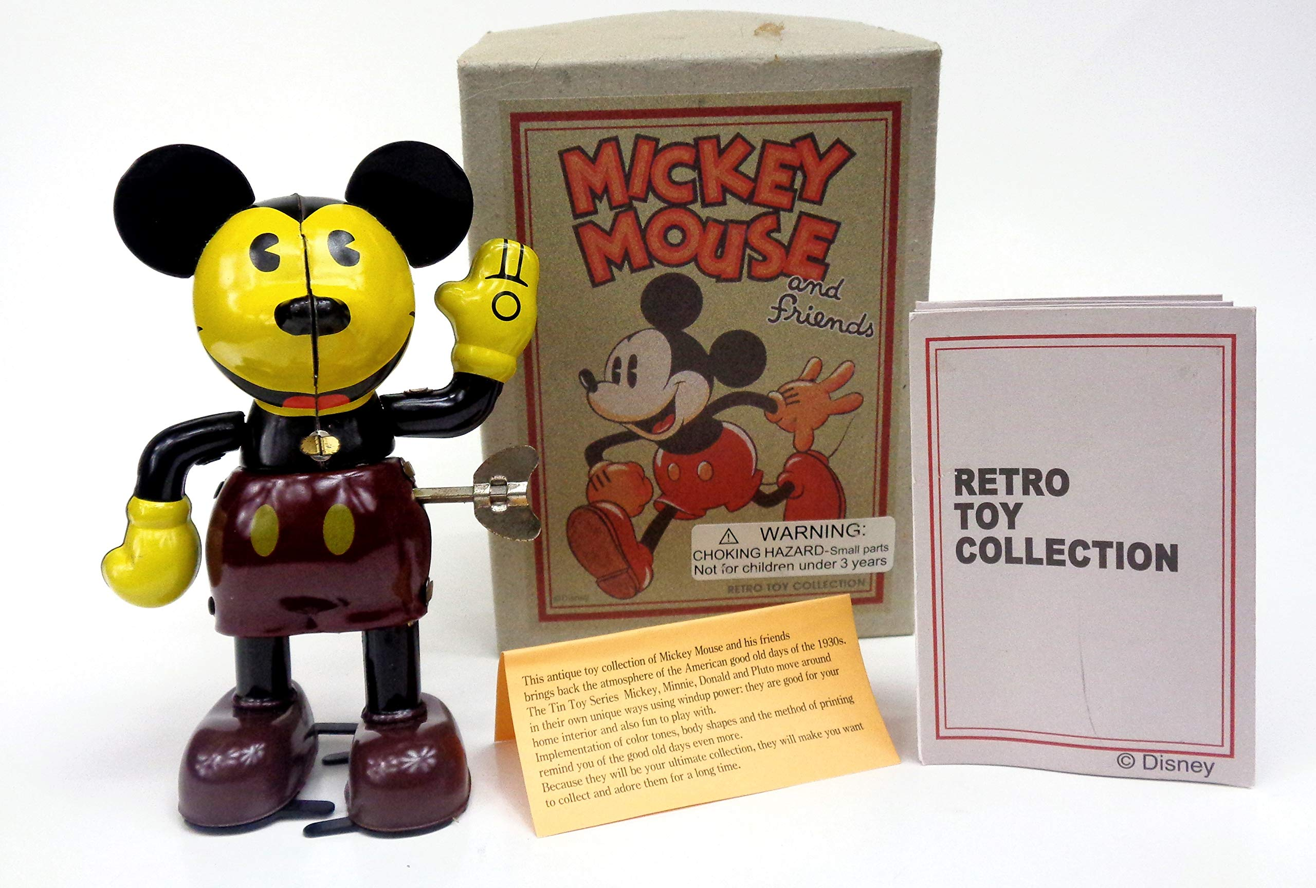 Schylling Mickey Mouse and Friends Tin Wind Up Toy by schilling