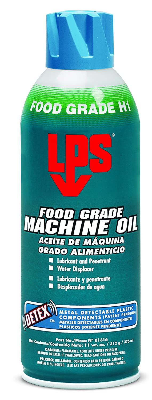 LPS-1316 Food Grade Machine Oil, 11 oz Aerosol (Pack of 12)