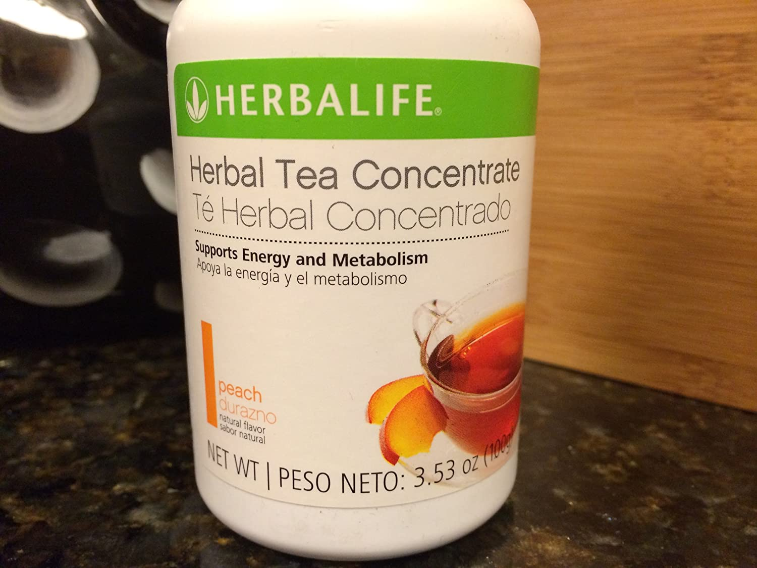 Herbalife Herbal Tea Concentrate Peach