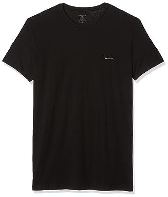 d9adfaa0e Diesel Men s Umtee-jakethreepack T-Shirt Pack of 3  Amazon.co.uk  Clothing