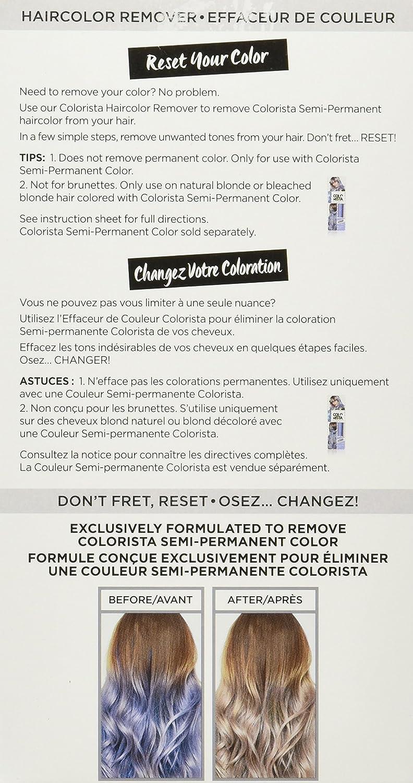 Amazon Loral Paris Colorista Color Eraser Haircolor Remover