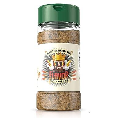 #1 Best-Selling 5oz. Flavor God Seasonings - Gluten Free, Low Sodium, Paleo, Vegan, No MSG (SINGLE SEASONING) (Buttery Cinnamon Roll, 1 Bottle)