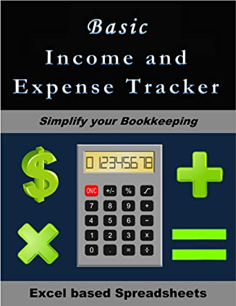 amazon com basic income and expense tracker