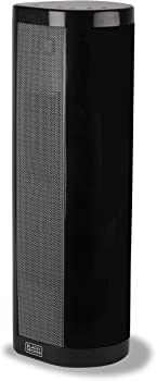 Black & Decker 1,500W Ceramic Tower Heater with LED Display Controls