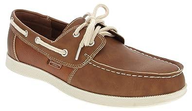 f16c99e7b31d London Fog Mens Harrow Boat Shoe Tan 8