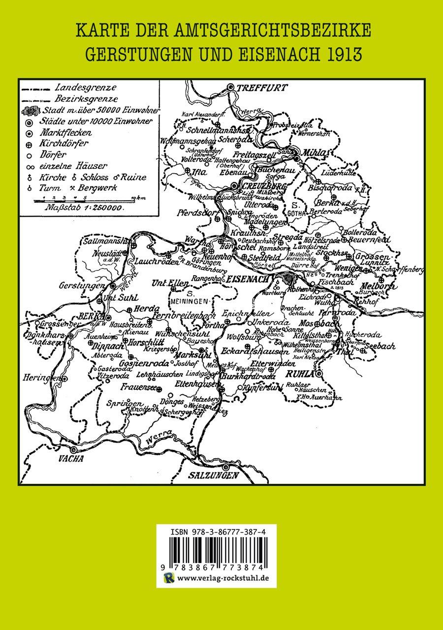 HEFT 40] Bau- und Kunstdenkmäler Thüringens. DIE LANDORTE - EISENACH ...