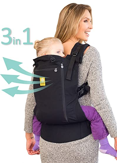 8ae8be0a6fc Amazon.com   LÍLLÉbaby 3 in 1 CarryOn All Seasons Toddler Carrier ...