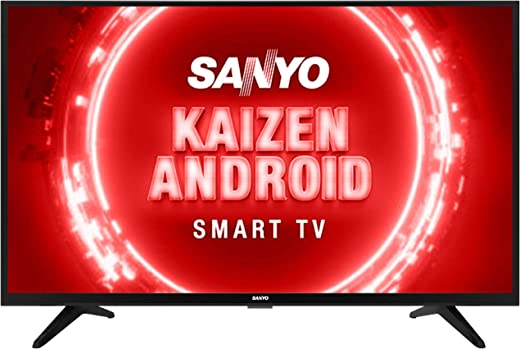 32 inches Sanyo Kaizen Series HD Ready Certified Android LED TV XT-32RHD4S (2020 Model)