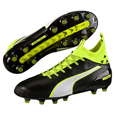527744db7e9 PUMA Evotouch 1 AG Mens Leather Soccer Boots Cleats-Black-8