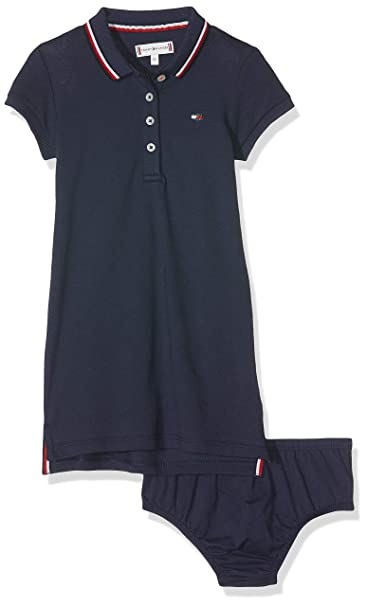 Tommy Hilfiger Essential Polo Dress SS Vestito Bimba