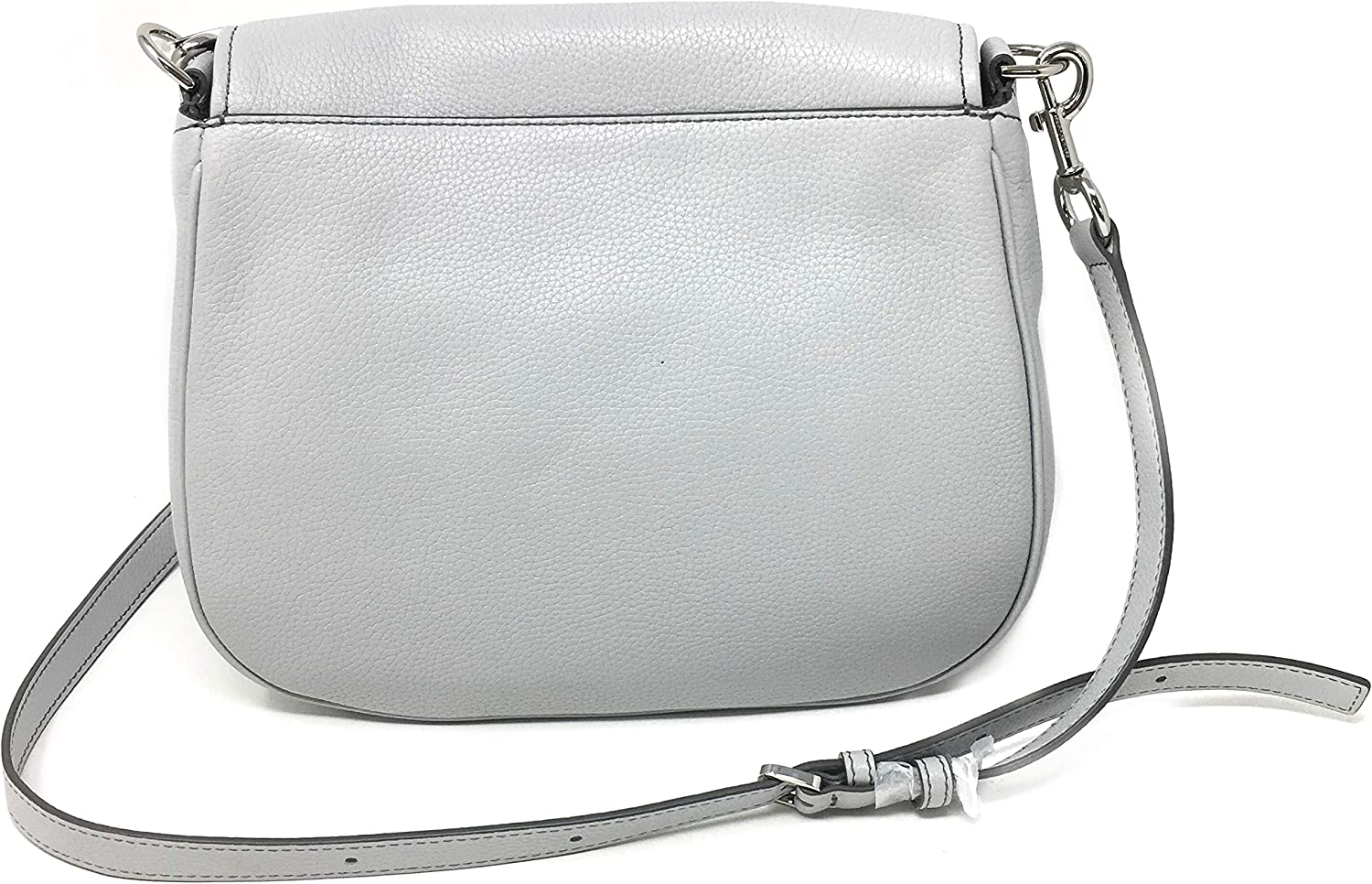 Light Grey Marc Jacobs Womens Shoulder Bag Style #M0013046 Pebbled Leather