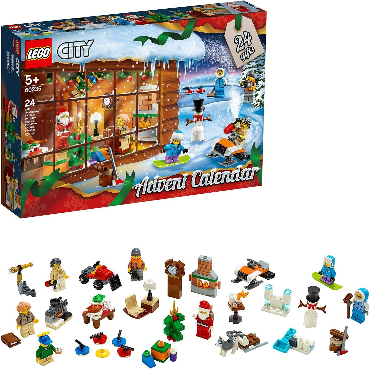 Amazon.com: LEGO 60235 City Advent Calendar: Toys & Games