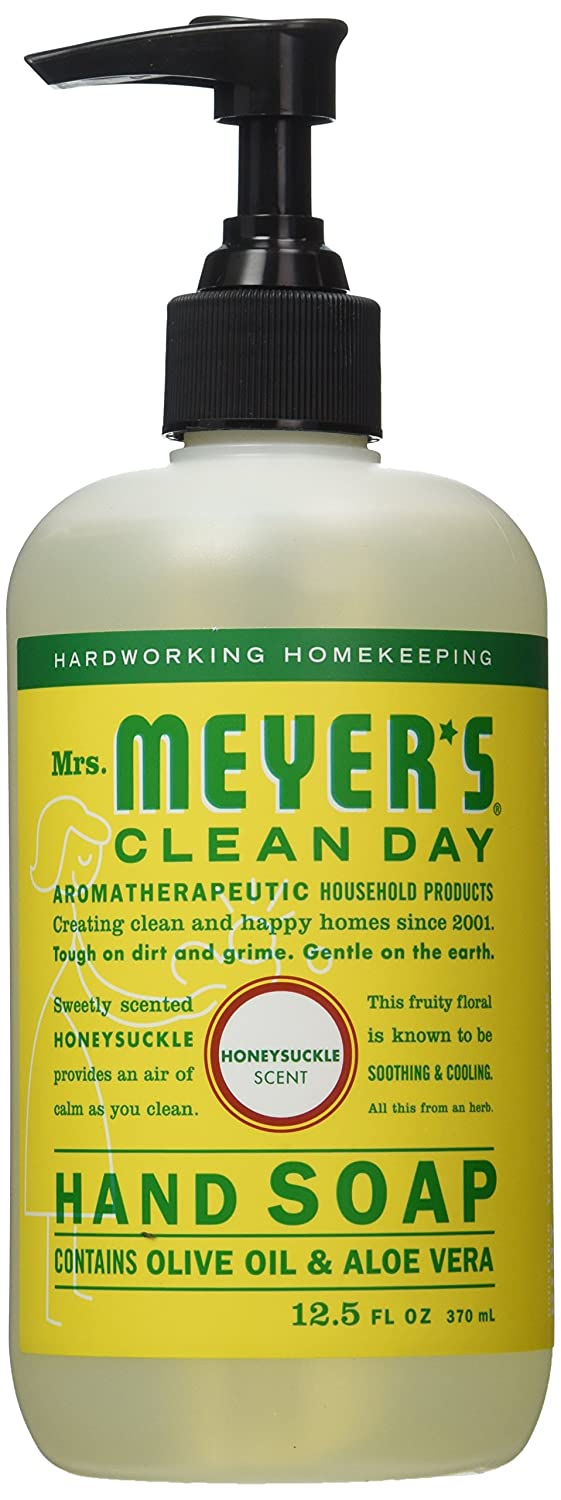 Mrs. Meyers Clean Day Liquid Hand Soap, Honeysuckle, 12.50 oz Mrs Meyers Clean Day 17425