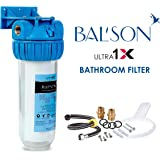 BALSON Ultra 1X Bathroom Water Filter with ASI Hard Water Conditioner