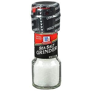 McCormick Sea Salt Grinder, 2.12 oz (Pack of 6)