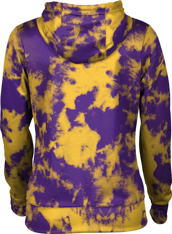 Grunge School Spirit Sweatshirt Hunter College University Girls Zipper Hoodie
