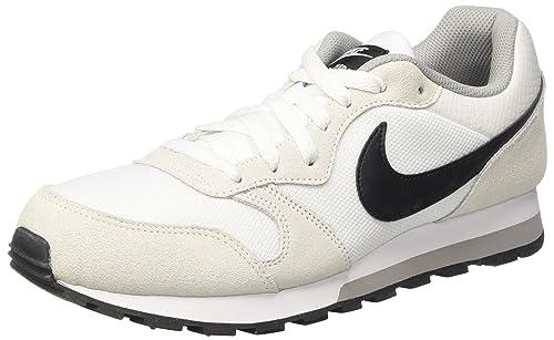 sports shoes e5761 de6f2 Nike Wmns MD Runner 2, Zapatillas de Entrenamiento para Mujer, Blanco (White  Black-Wolf Grey 100), 44 EU  Amazon.es  Zapatos y complementos