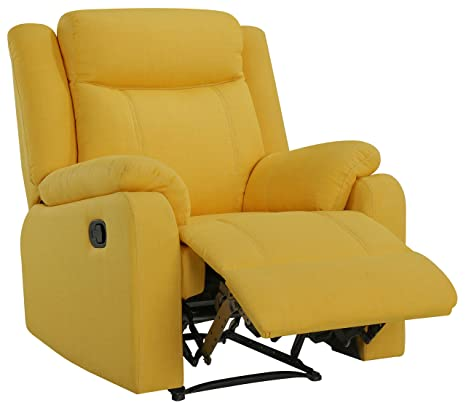 Stupendous Amazon Com Glory Furniture Bari G0879A Rc Yellow Recliner Pabps2019 Chair Design Images Pabps2019Com