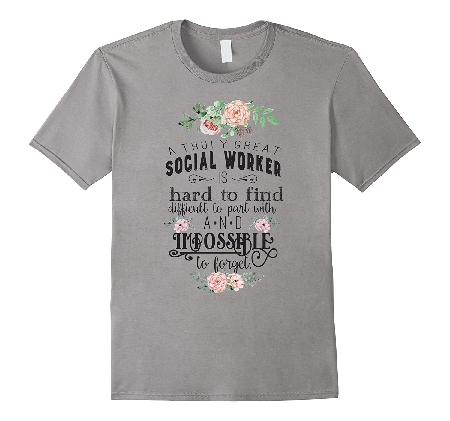 A Truly Great Social Worker Cool T-Shirt-TD