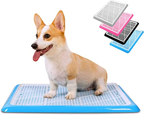 Training Pads Toilet for Puppies and Small Pets Square Pet Training Toilet with Tray for Small Dogs Potty Pet Supplies