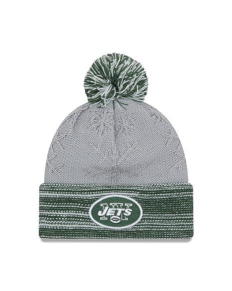 c8a3ee0bc2f Amazon.com   NFL New York Jets Women s Snow Crown Redux Knit Beanie ...