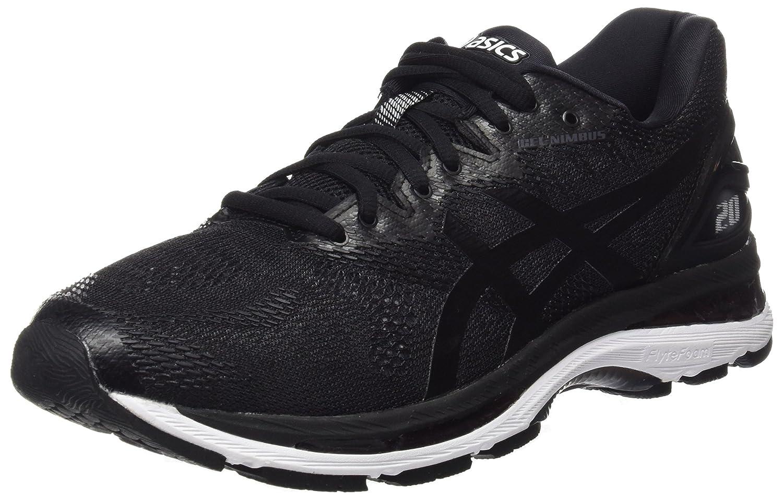 Asics Gel-Nimbus 20, Zapatillas de Entrenamiento para Hombre 46 EU Negro (Black/White/Carbon 9001)