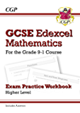 GCSE Maths Edexcel Exam Practice Workbook: Higher - for the Grade 9-1 Course (includes Answers) (CGP GCSE Maths 9-1 Revision)