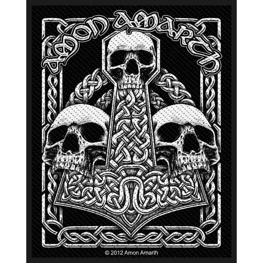 Amon Amarth Three Skulls Official Patch (8cm x 10cm)
