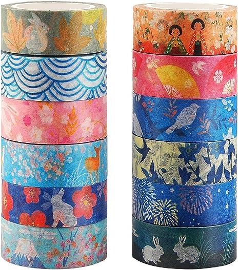 Tres Capas ViviJane Funda de Planchar Patrones de Flores Tama/ño Universal Cubierta de la Tabla de Planchar Ajustable con 4 Clips