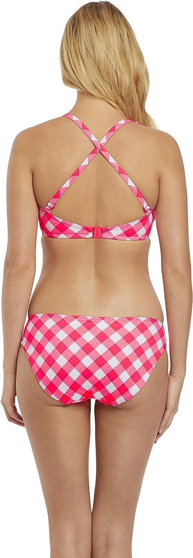 Freya Totally Check Halter Bikini Top