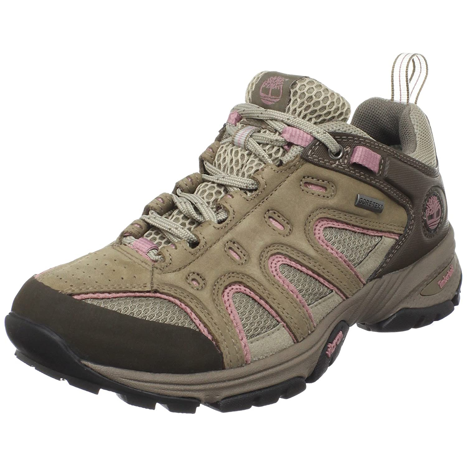 6699db0670e Womens Timberland WMS Ledge Low GTX Greige Trekking and Hiking Shoes ...