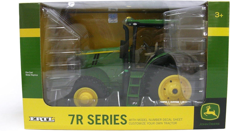 Ertl 1//16 Scale John Deere Model 7R Tractor with Decal Sheet 45431