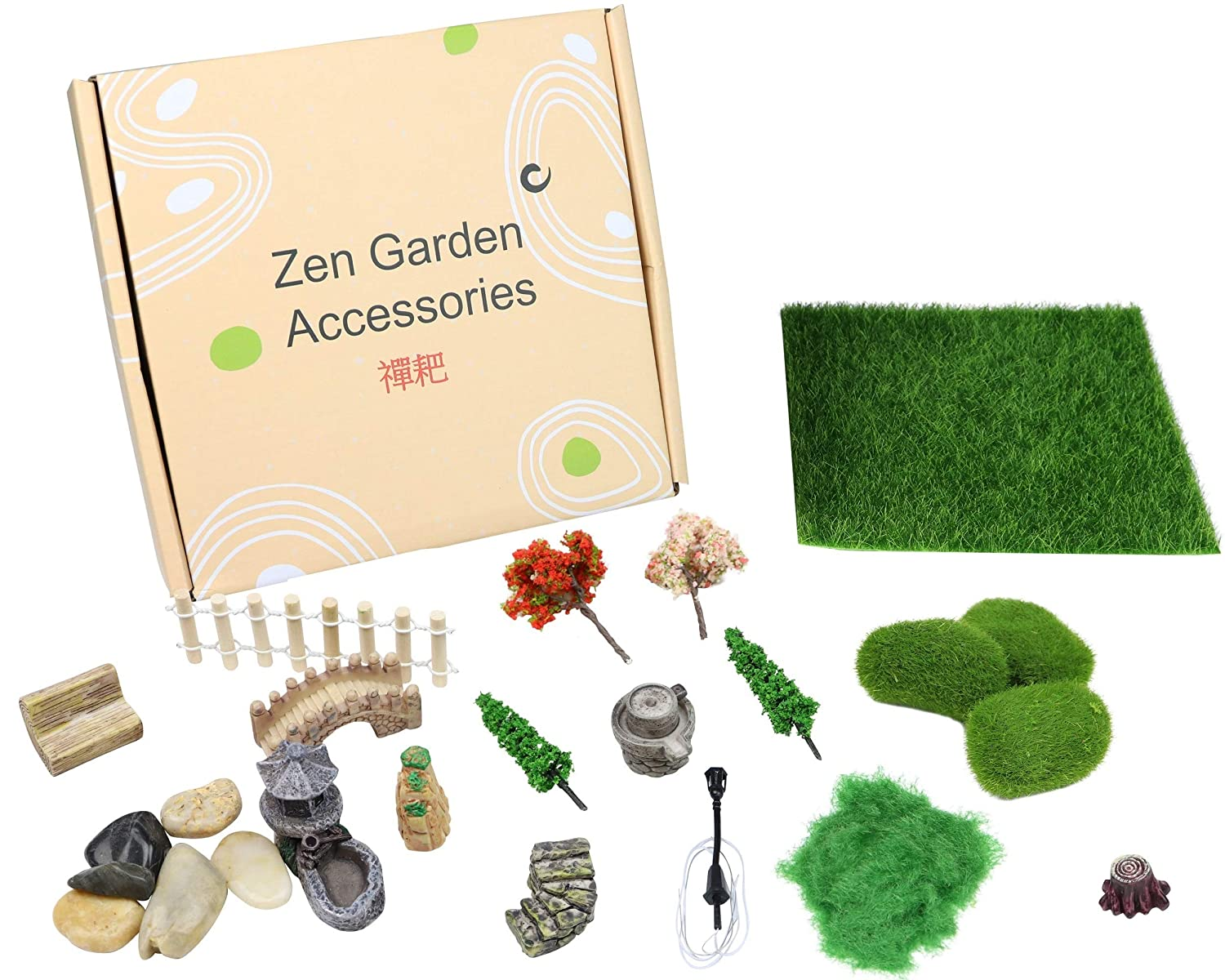 Zen Garden Accessories, Fairy Garden Miniatures, Sandbox Decorations, Zen Garden Miniatures, Zen Garden Ornaments, Fairy Garden Accessories, Fairy Garden Figurines