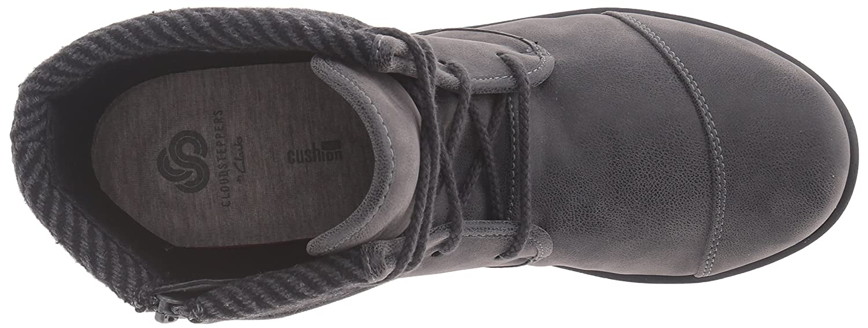 CLARKS Women's 7.5 Sillian Frey Boot B01BLUIDTC 7.5 Women's A - Narrow|Grey Synthetic Nubuck 8bcce7