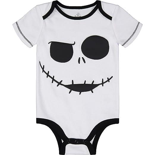05ba26669 Amazon.com: Nightmare Before Christmas Jack Skellington Baby Bodysuit:  Clothing