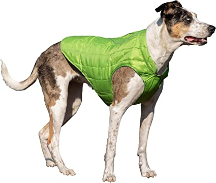 Medium /& Large Dogs Kurgo Dog Jacket Reversible Winter Jacket for Dogs Pet Coat for Hiking Water Resistant Reflective Lightweight Loft Jacket K9 Core Sweater for Small