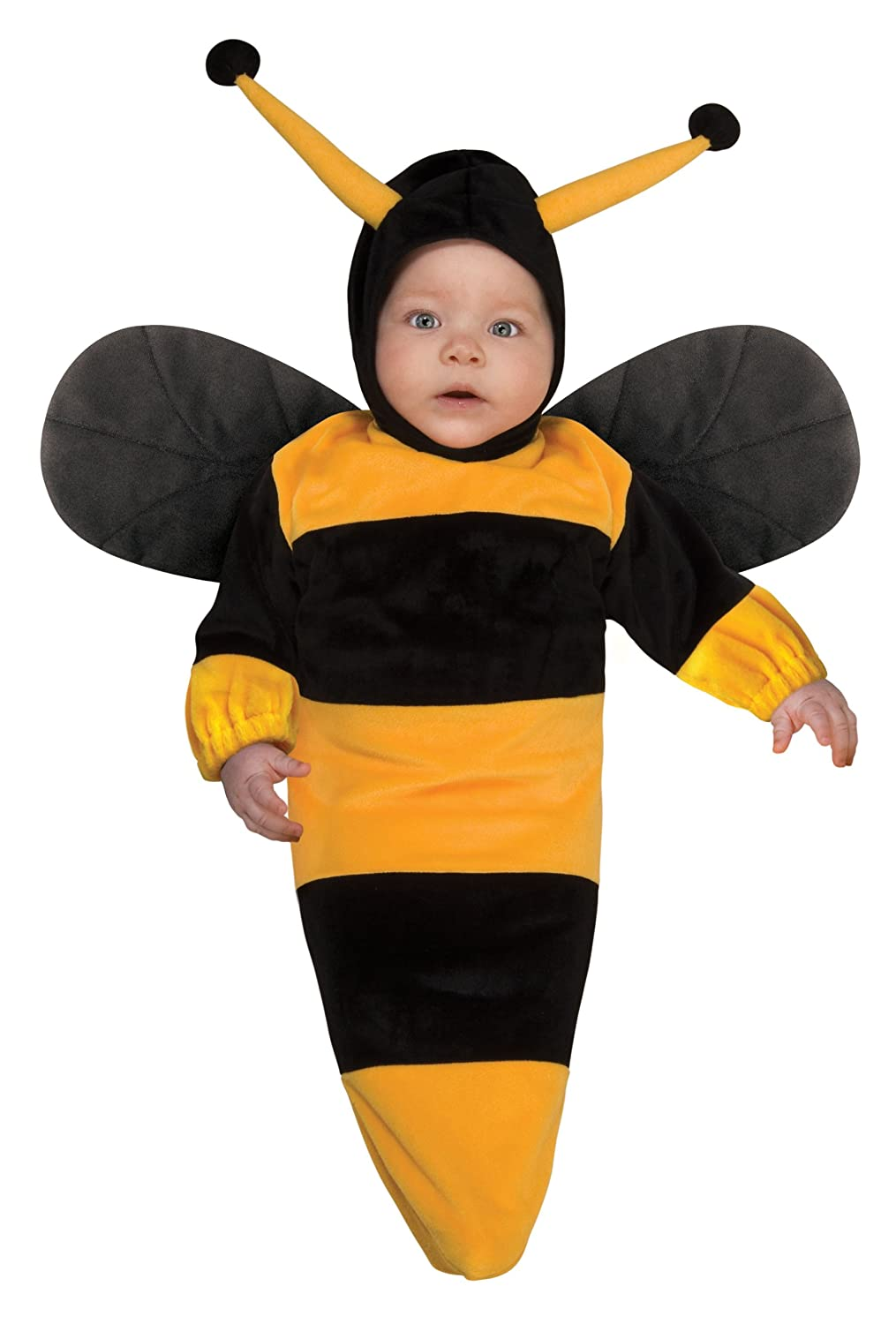 amazoncom rubies costume deluxe baby bunting bumble bee costume 1 to 9 months clothing - Bee Halloween