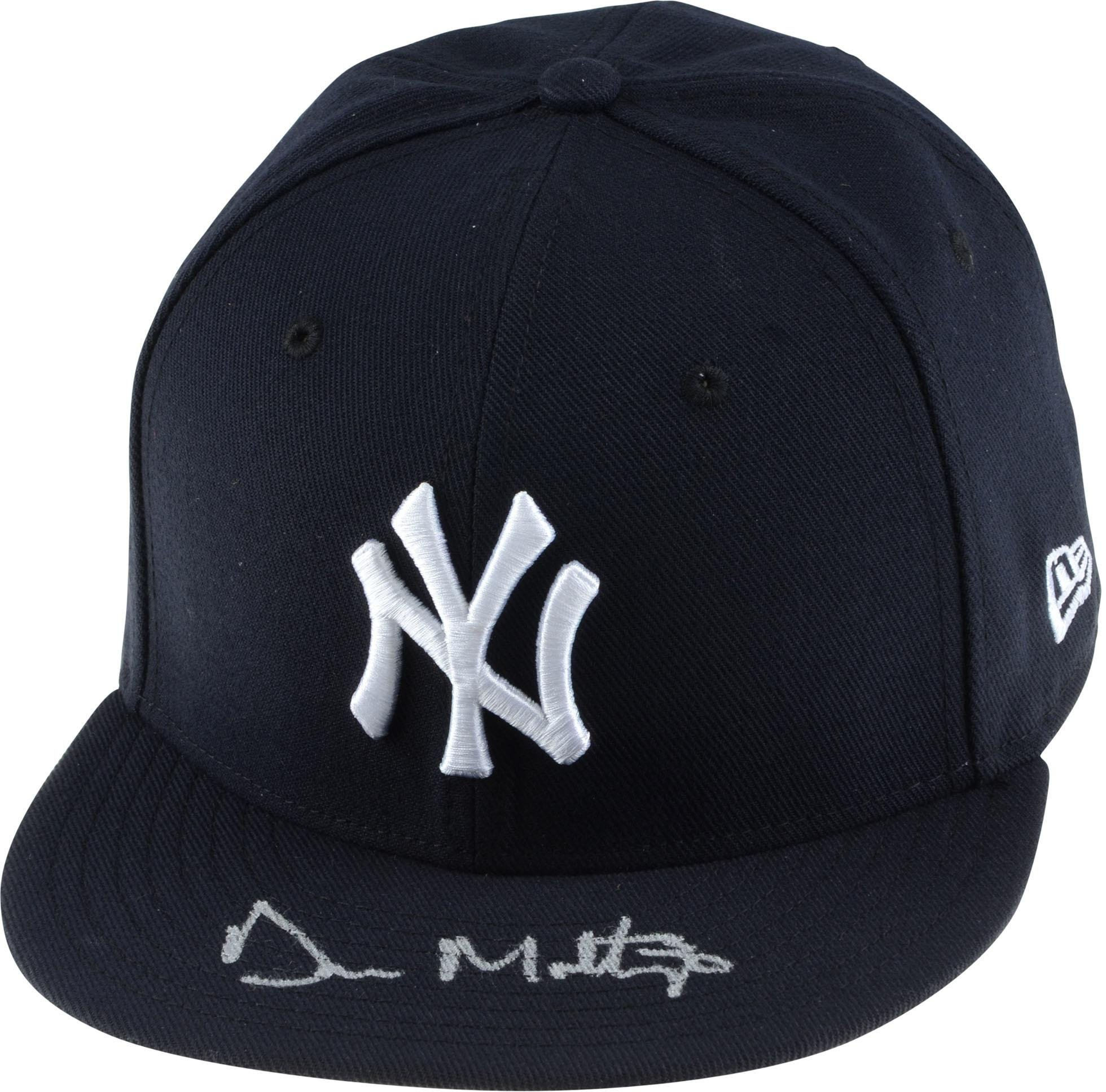 Don Mattingly New York Yankees Autographed New Era Cap Fanatics Authentic Certified Autographed Hats