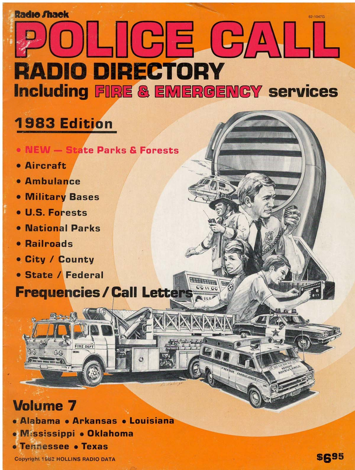 Police Call Radio Directory Including Fire and Emergency