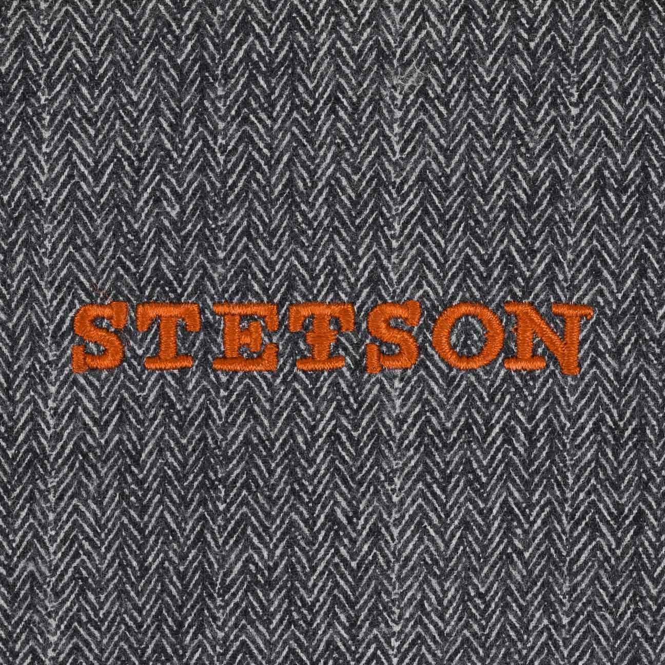 Lining Summer-Winter Flat caps Newsboy with Peak Stetson Hatteras Pigskin Leather Cap Men
