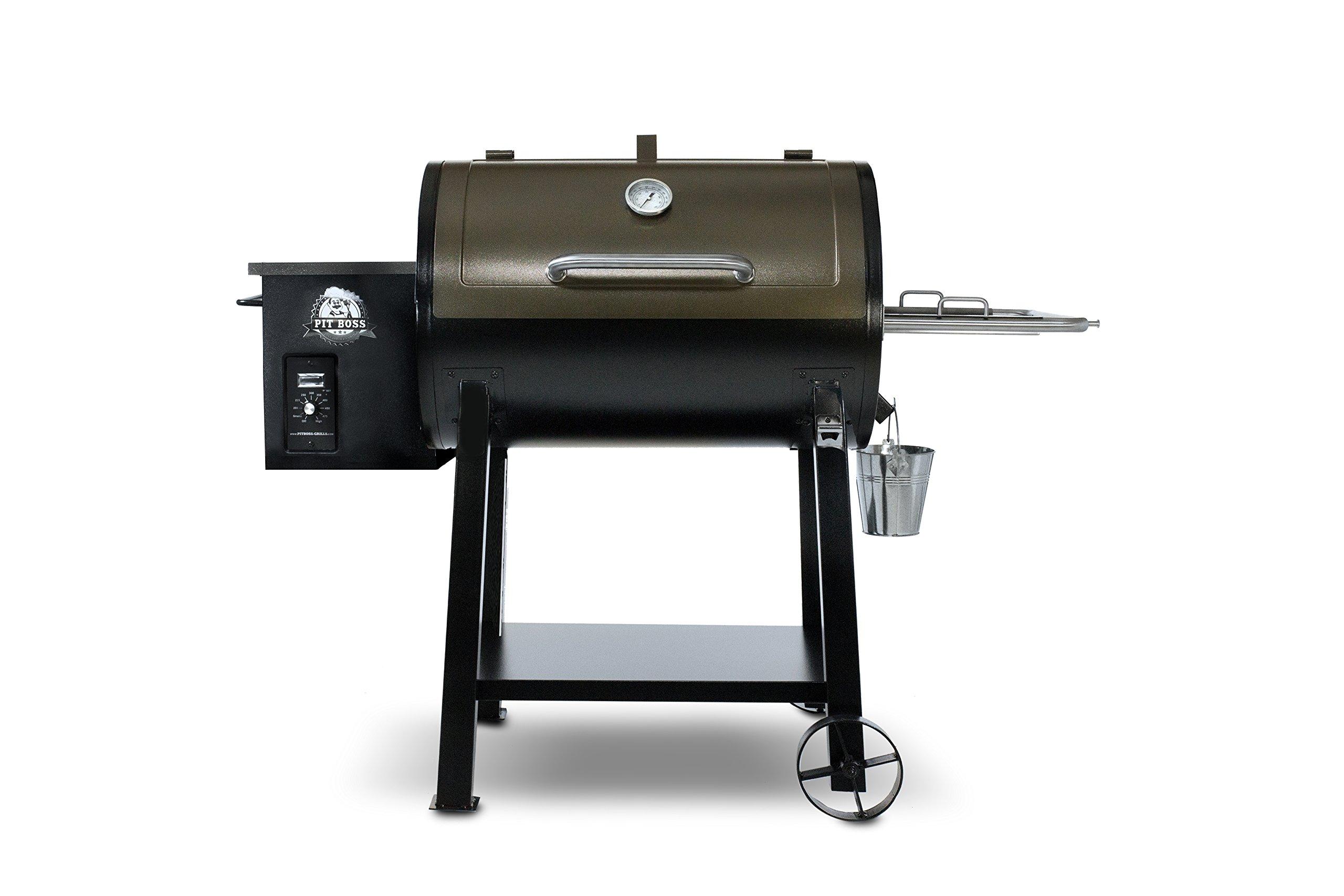 pit boss grills 440 deluxe wood pellet grill ebay